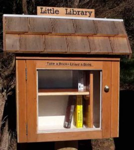 Little Library Opens